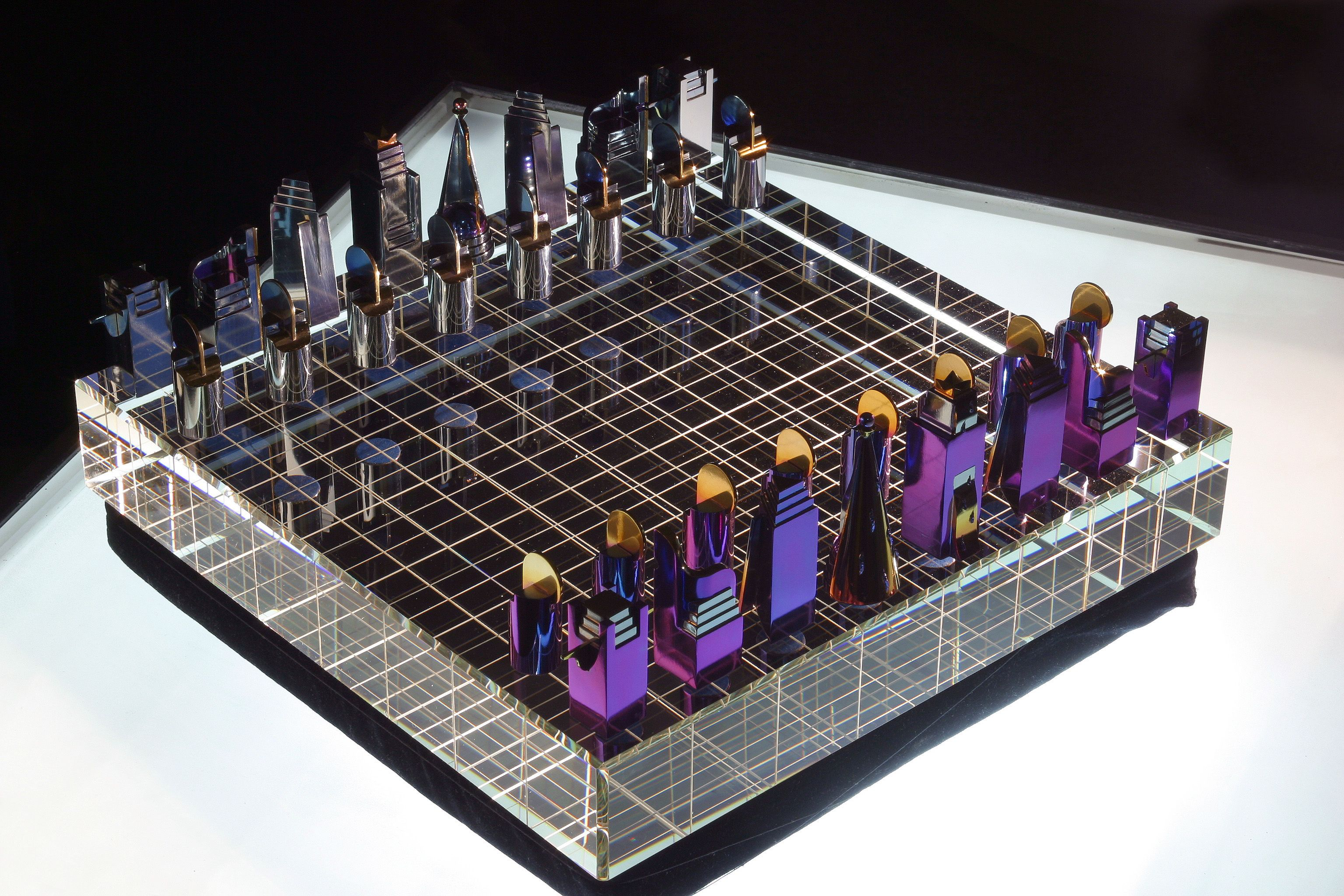 projects ideas metal chess pieces.  The unique chess set made of a natural material rare earth metal zirconium