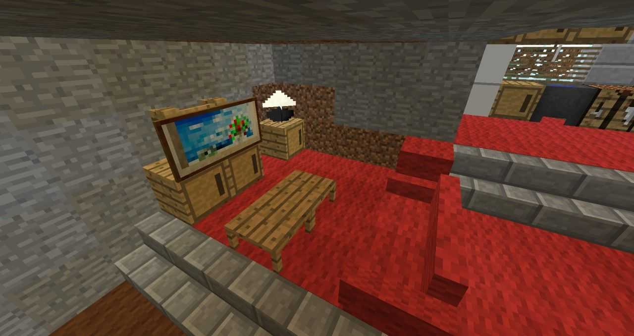 Modern Living Room Minecraft nice minecraft room decor with minecraft decor - adero | minecraft