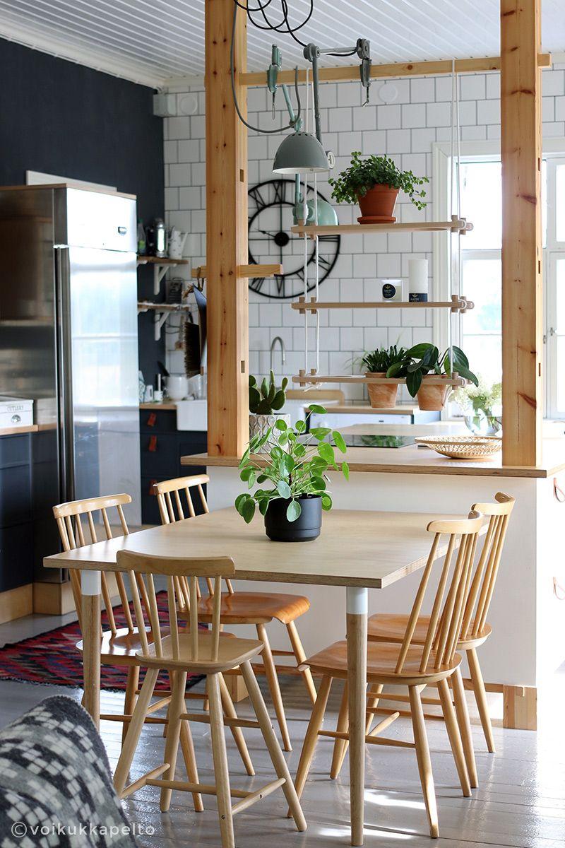 Voikukkapelto blogi. Keittiö. Kitchen.