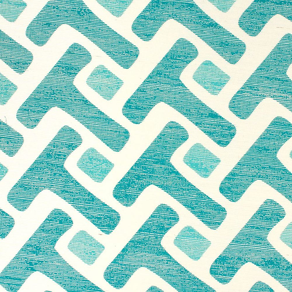 Teal Tease a Prints 5772 Wall coverings, Fabric