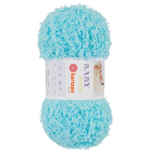 Azul Blue SO CRAFTY 4 X 100g Super Soft Chunky Baby Yarn
