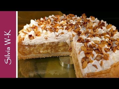 Apfelsahnetorte X2f Apfeltorte X2f Unwiderstehlich X2f Mandel Sahne Haube Youtube Apfel Sahne Torte Kuchen Und Torten Rezepte Kuchen Und Torten