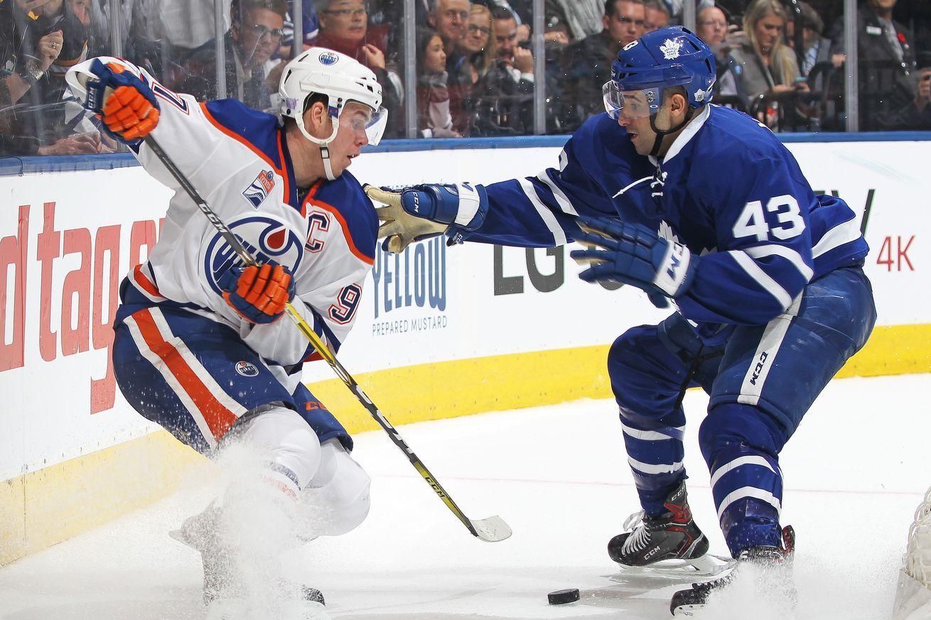 Toronto Maple Leafs Edmonton Oilers Game Thread