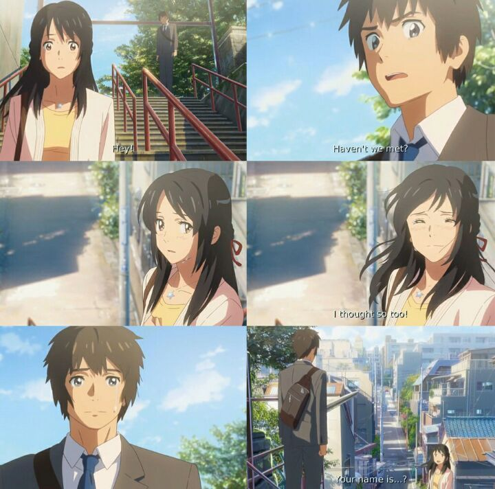 Kimi no na wa || your name. .? || 君の名は。》review^-^ | Anime Amino