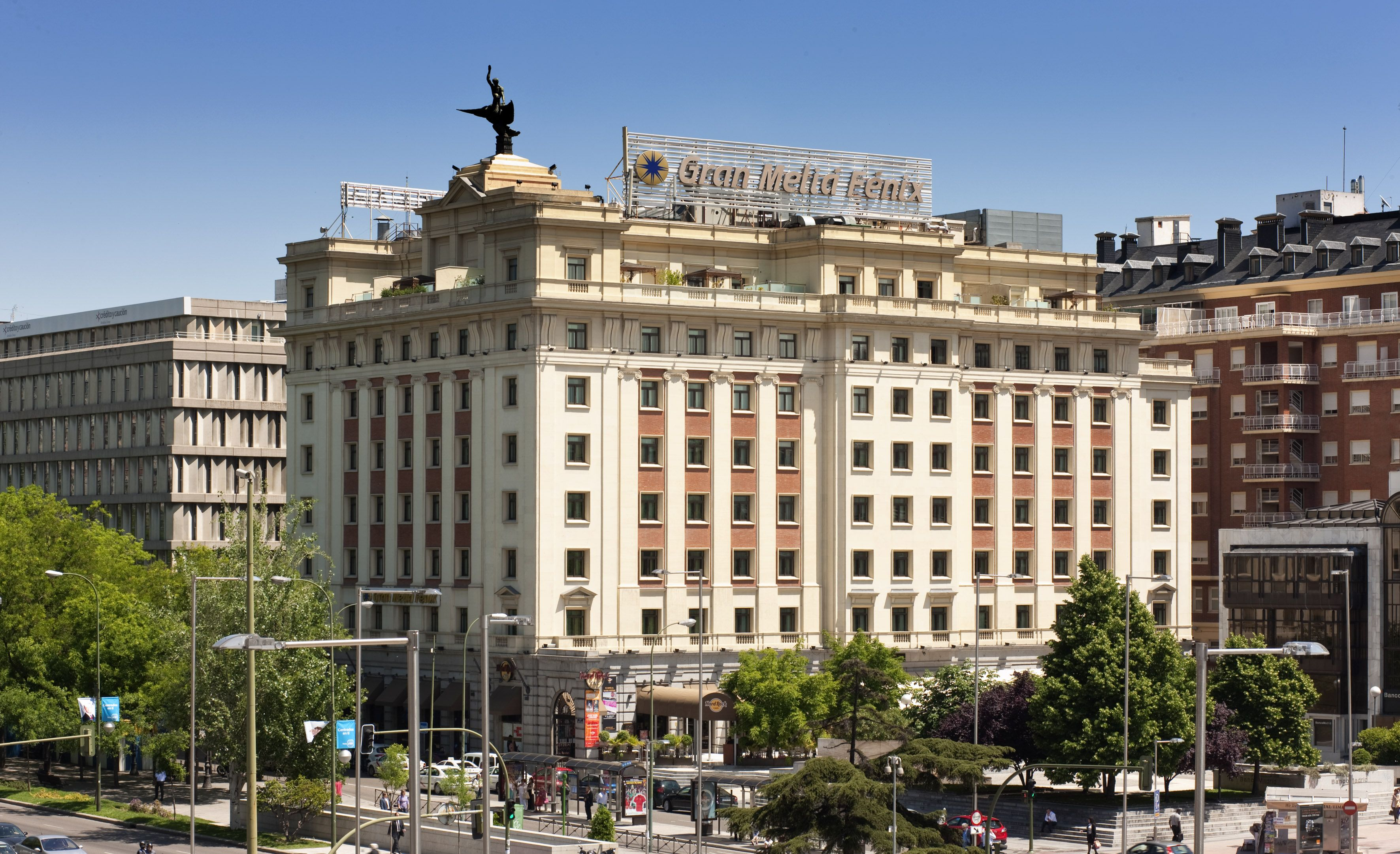 The Gran Melia Fenix Is A Luxury Hotel In Madrid Located In The