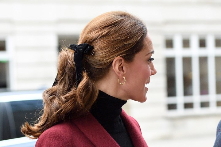 Kate Middleton is the queen of chic hairstyles | New Idea Magazine
