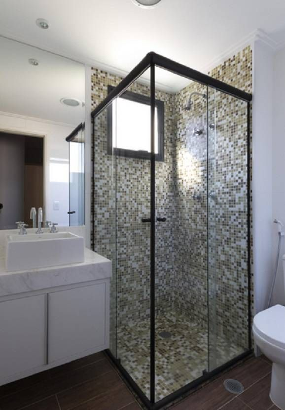 Banheiro 2x2 decorado