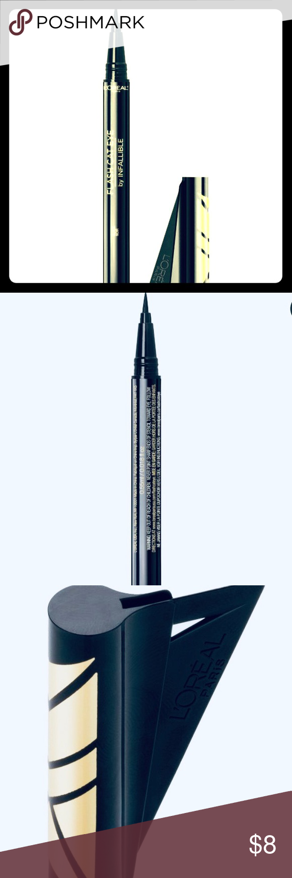 L'Oreal Infallible FLASH CAT EYE Liner + Stencil LOREAL