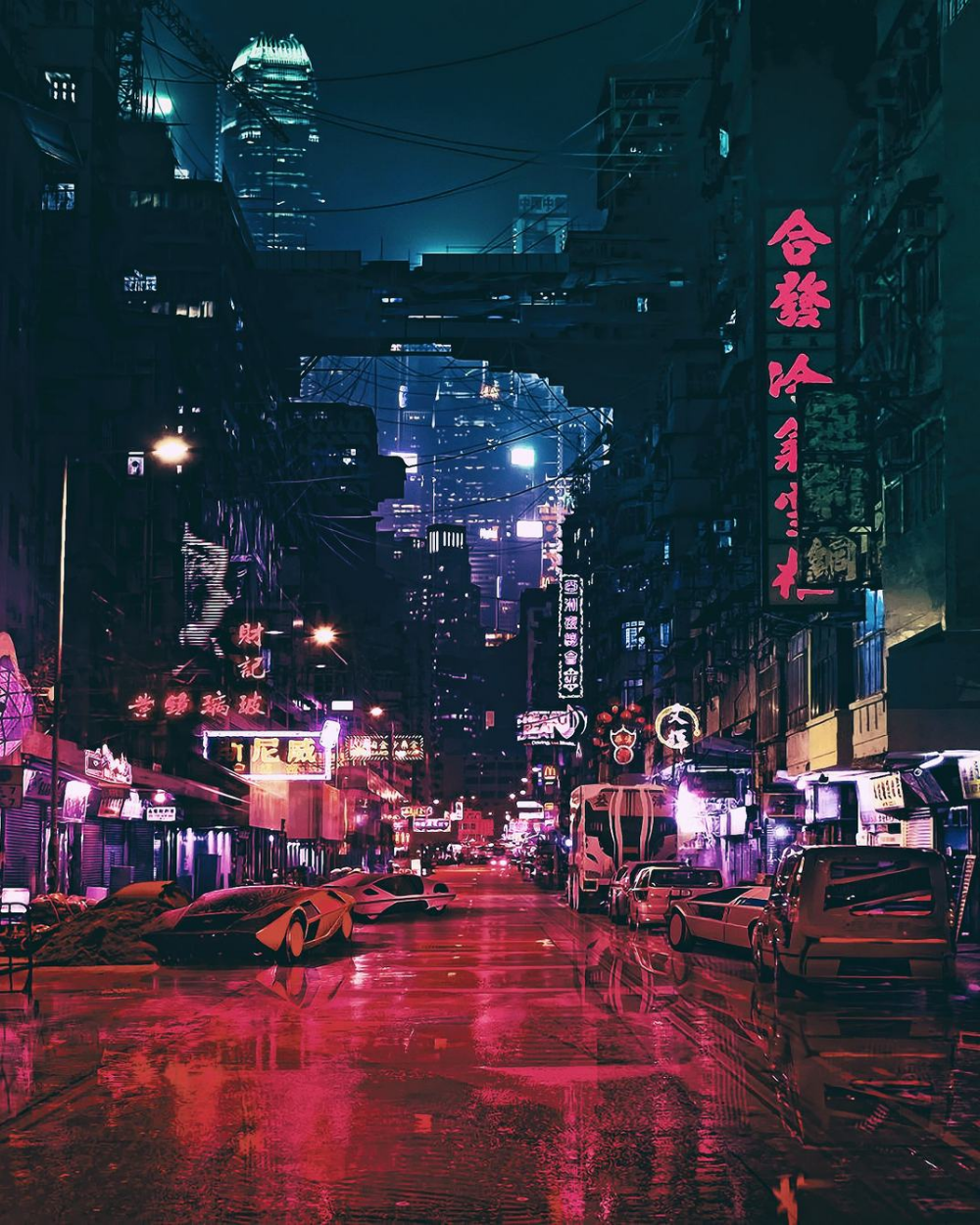 Cyberpunk Futuristic City Wallpaper Futuristic City City Wallpaper Pop Art Wallpaper