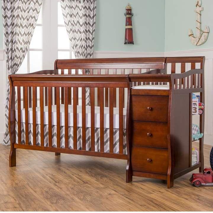 Brody 3 In 1 Convertible Crib And Changer Convertible Crib Cribs Crib Mattress