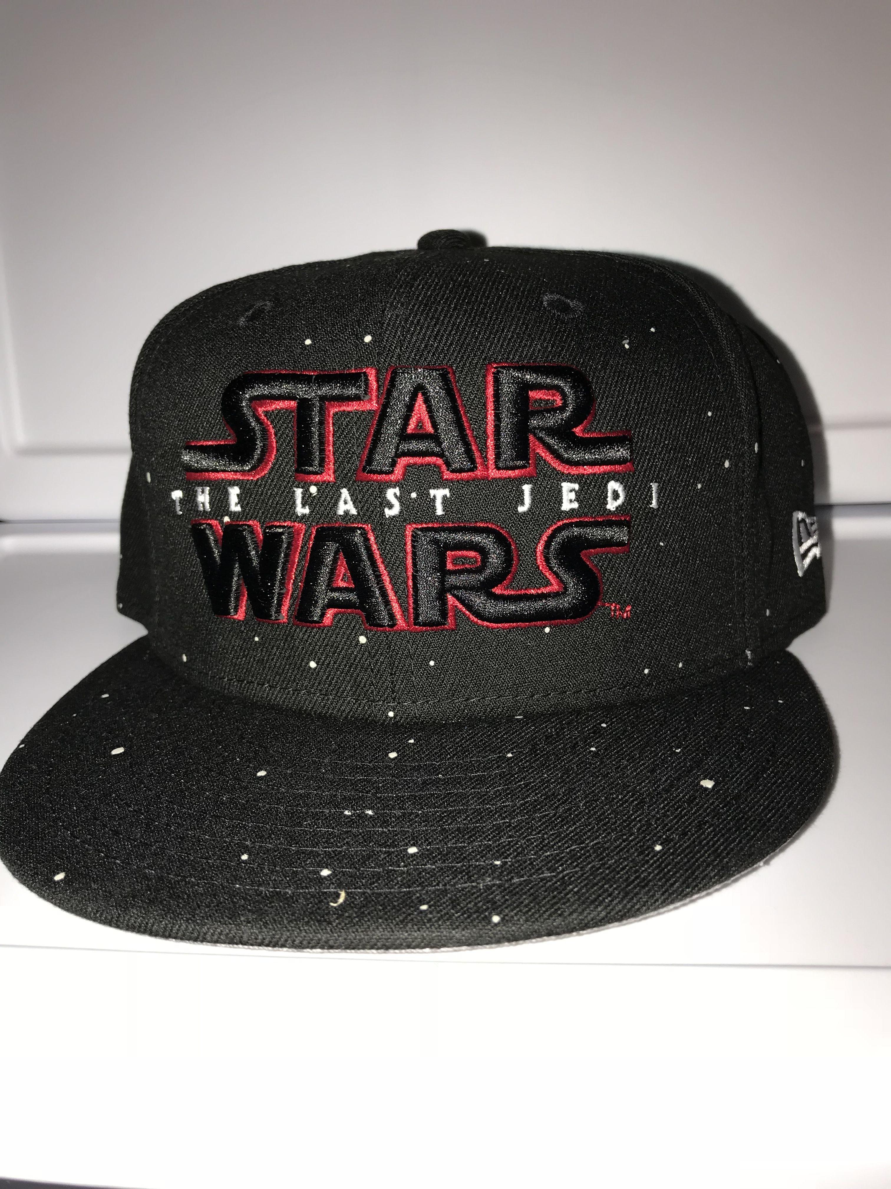 c7129055 New Era Star Wars the last Jedi glow-in-the-dark star field 9FIFTY snapback