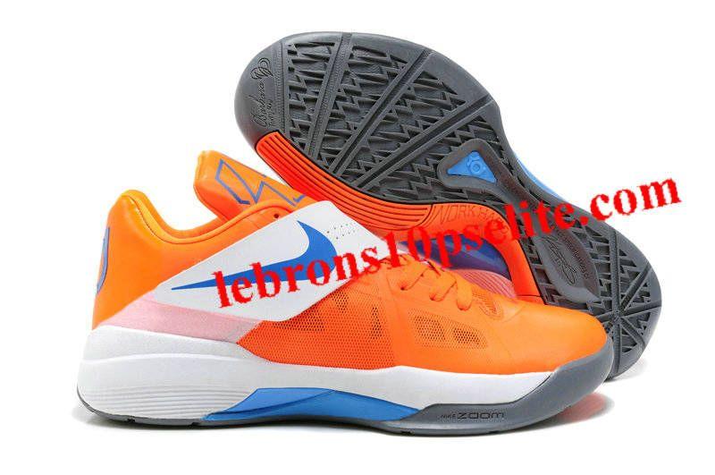 Kevin Durant Shoes - Nike Zoom KD 4(IV) Vivid Orange