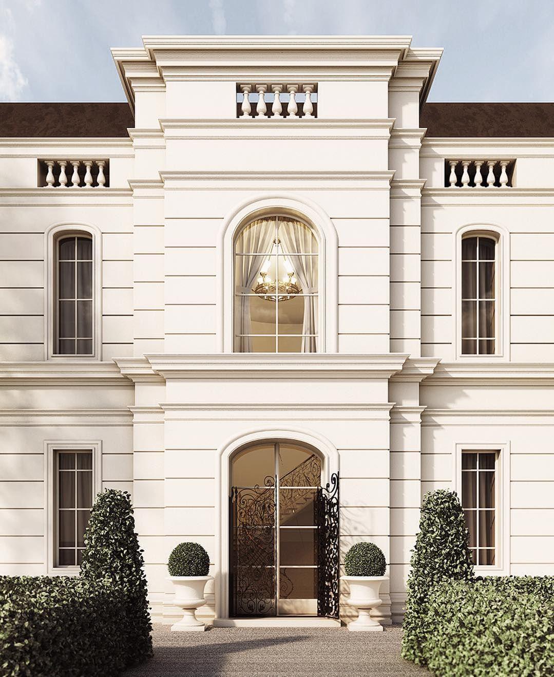 #bruger#brugerstudio#hdg#vray#c4d#rendering#archviz#love#render_contest#instarender#architecture#design#exterior#classic#light#windows#garden#pattern#geometric#street#villa#visualization#italy#simmetry#gate#bushes by bruger_studio