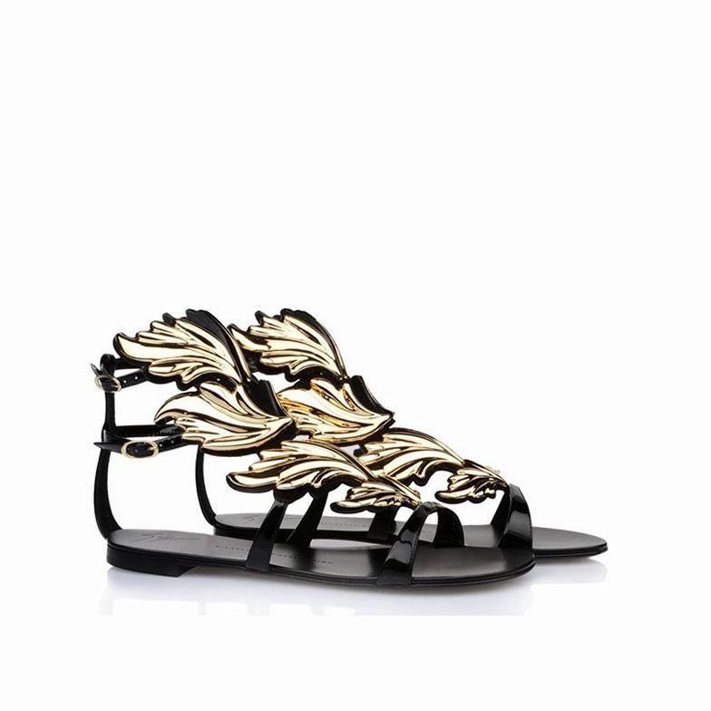 Giuseppe Zanotti Shoes | Home > Giuseppe Zanotti Sandals > Giuseppe Zanotti Firewings Sandals ...