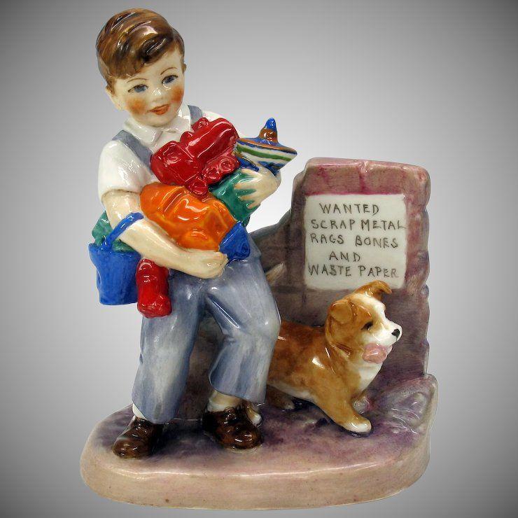Royal Worcester Wartime figure figurine by E. Soper