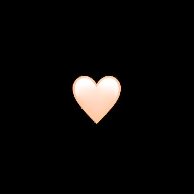 Png Orange Heart Heart Icons Love Heart Emoji Heart Emoji