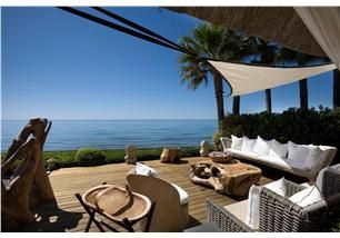 Beachfront Villa- Marbella Spain