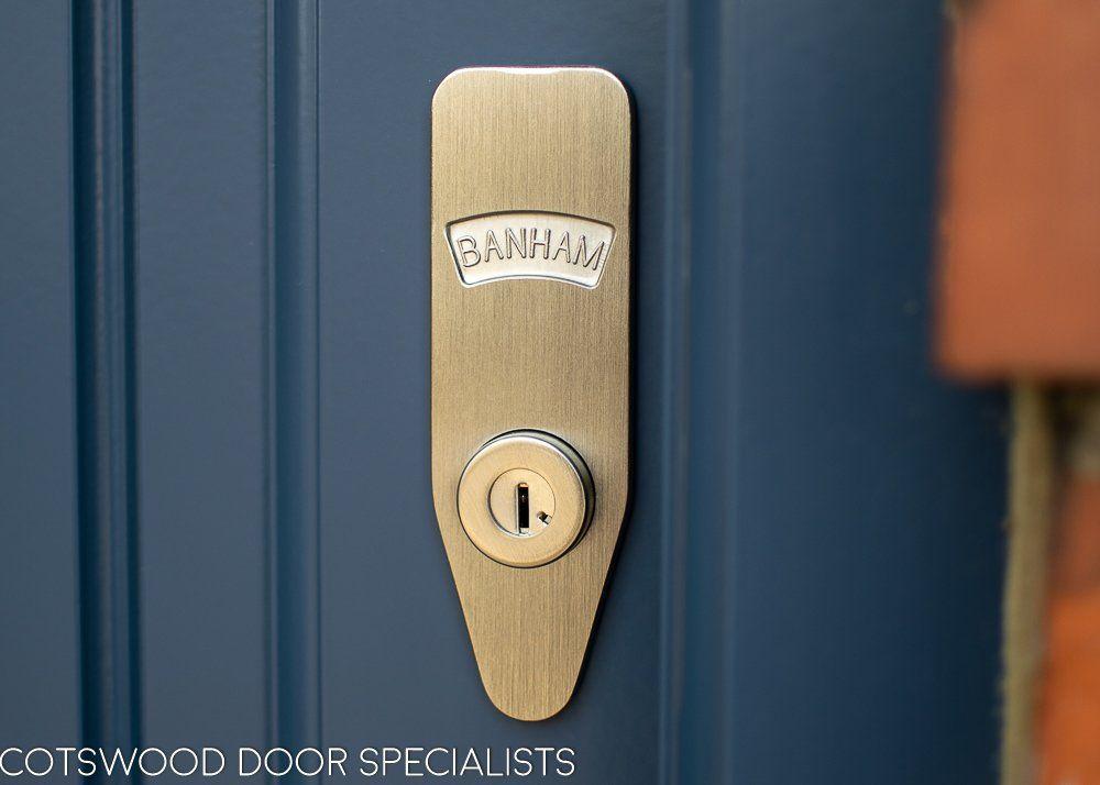 1930 S Grey Spray Painted Six Light Front Door Doors Wooden Front Doors Stained Glass Door