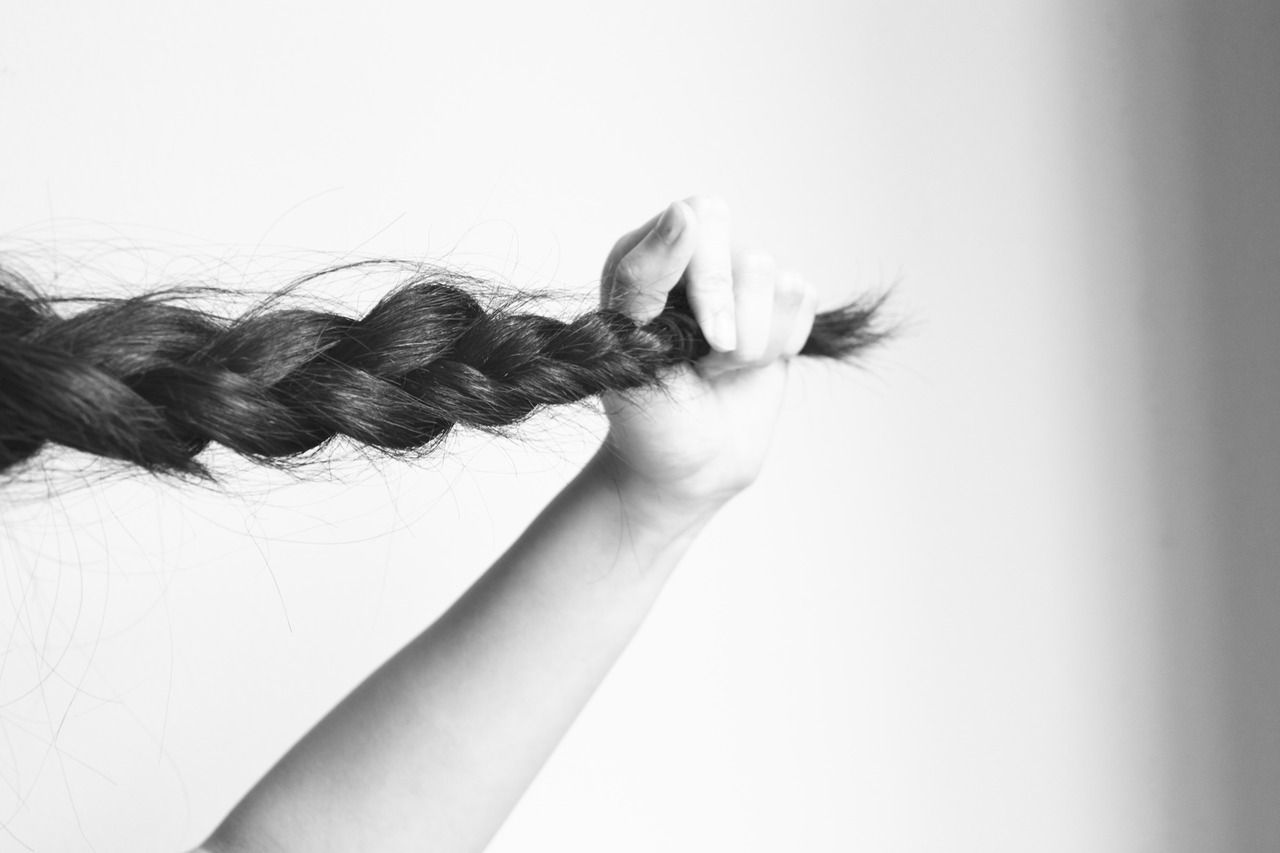And she will wear this little braid