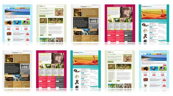 600+ Free #Email Templates #emailtemplate #emailmarketing