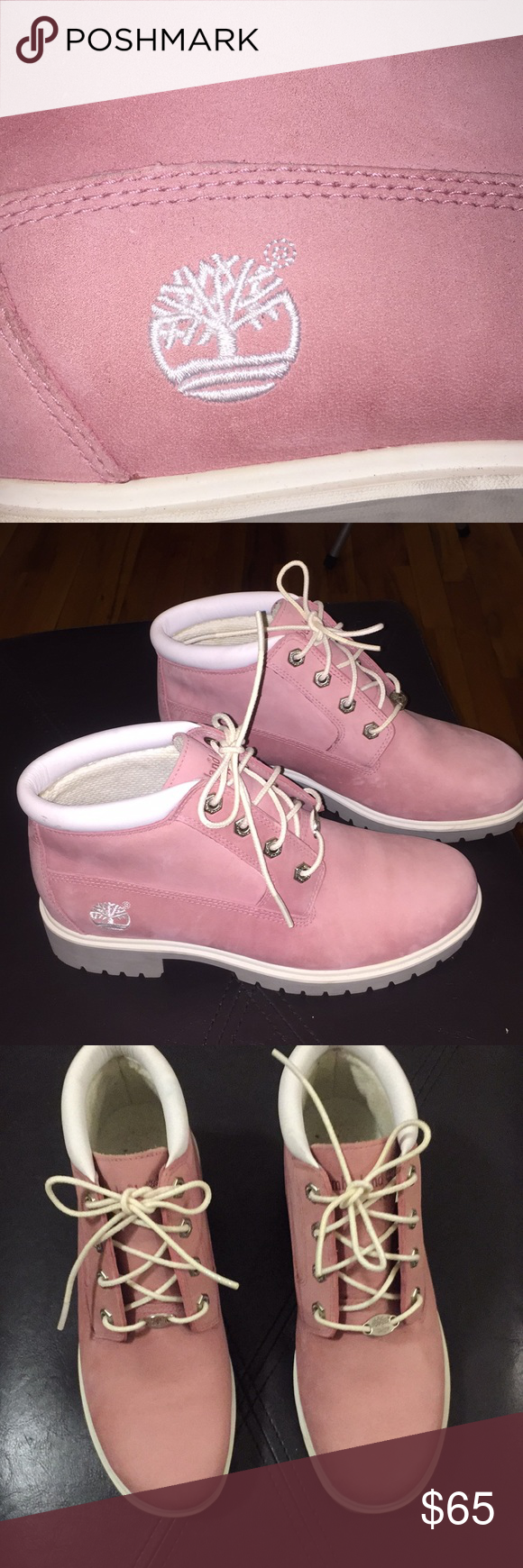 99fbe4c6c7735 Spotted while shopping on Poshmark: Bubble Gum Pink Timberland Nellie-  women's! #poshmark #fashion #shopping #style #Timberland #Shoes