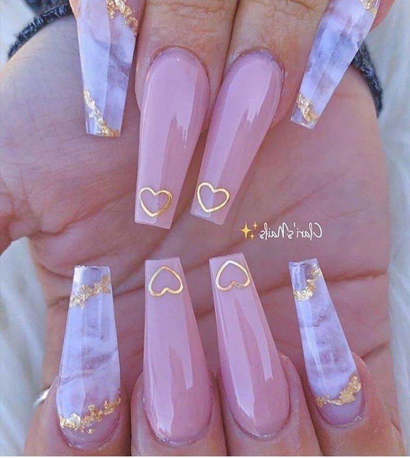 20 Autumn Acrylic Coffin Nails Must Inspire You in 2020 - Page 3 of 3 - ibaz
