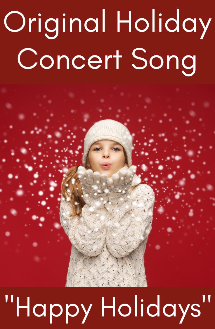 Christmas Concert Song Performance Holiday Program