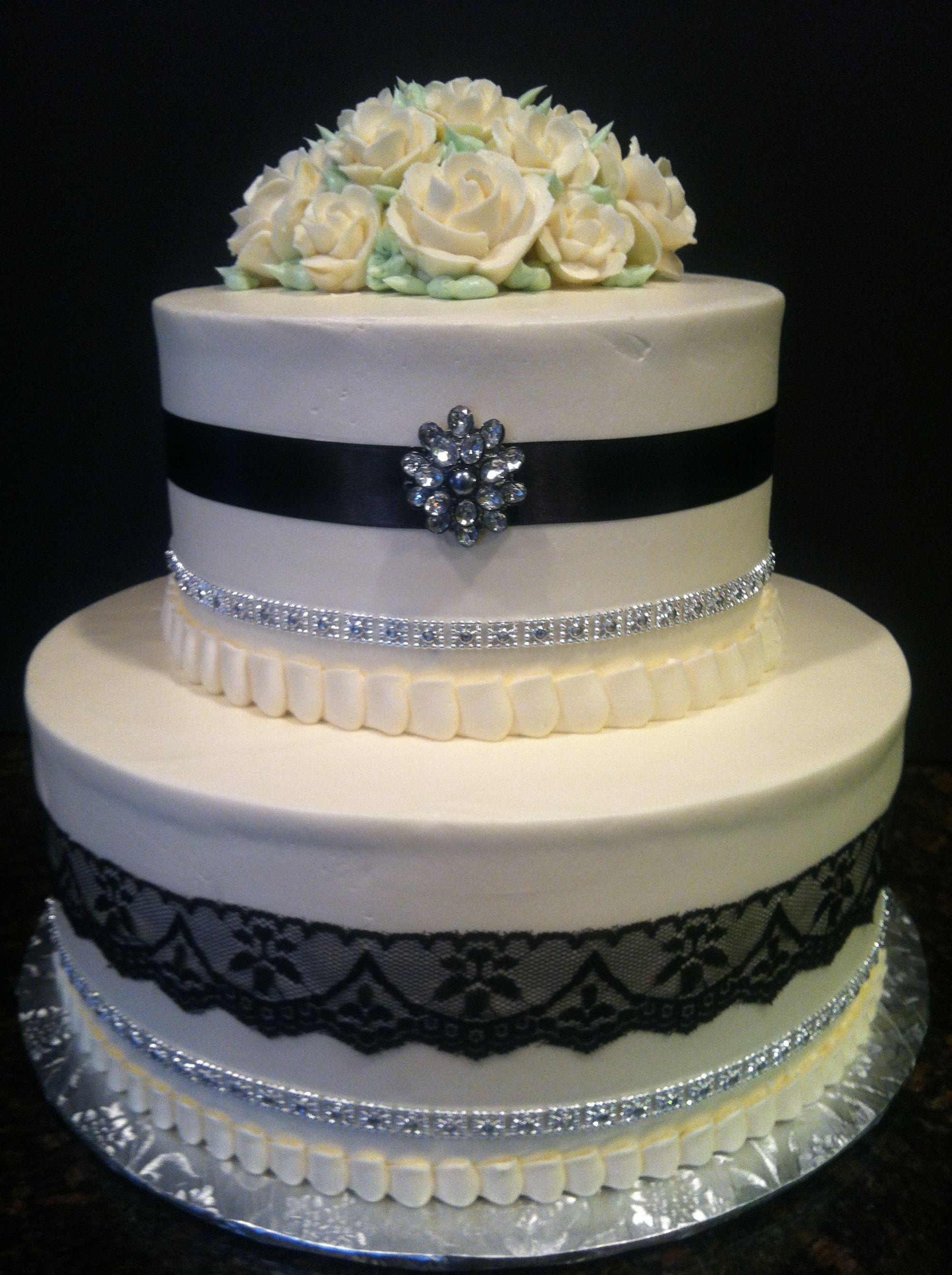 25th Wedding Anniversary cake 25th wedding anniversary