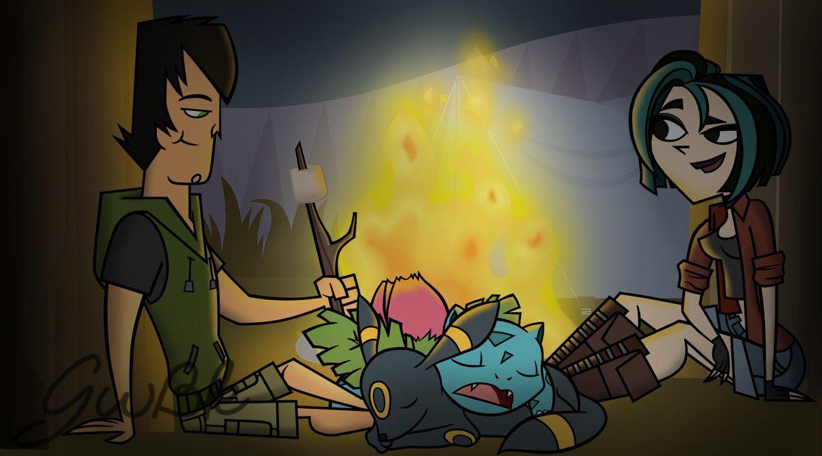 Kanto Route 3 by GwennieBlack | Total drama island, Cartoon drawings, Total  drama kids