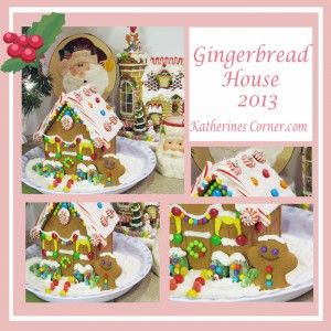 Gingerbread House Tour Holiday baking usually includes some sort of yummy gingerbread creations. The aroma of gingerbread cooking just screams Christmas to me! I shared my gingerbread loaf with you last year and you can get the recipe HERE.Today I am sharing my gingerbread house and inviting you to