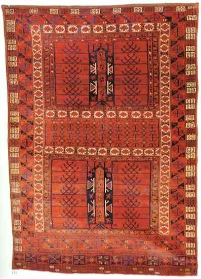 Marechal Taghan Ensi prayer rug
