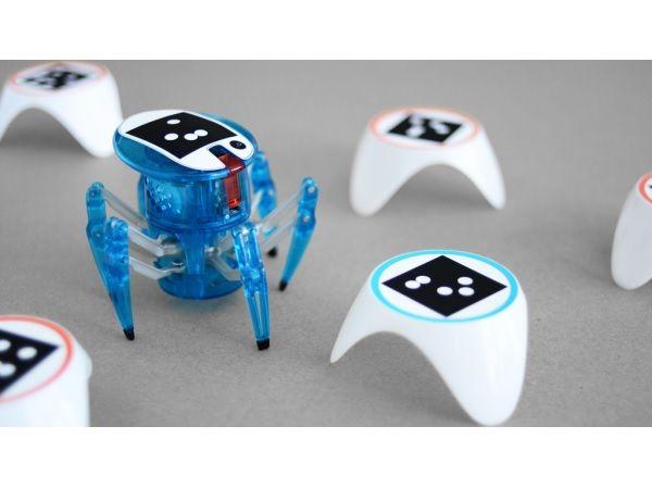クモ型ロボットHexbug SpiderにAI機能追加するキットたちまち自分で思考し動く自律ロボットに変身