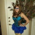 DIY Halloween: Peacock Costume