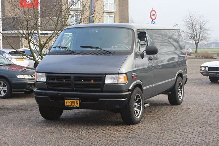 Dodge Cargo Van 1996 With Images Dodge Van Cool Vans Vans