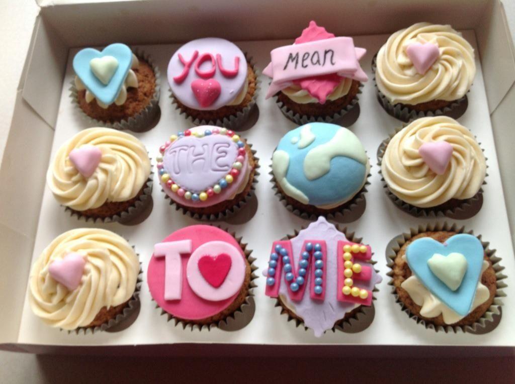 Anniversary Cupcakes Anniversary Cupcakes Cupcake Cakes