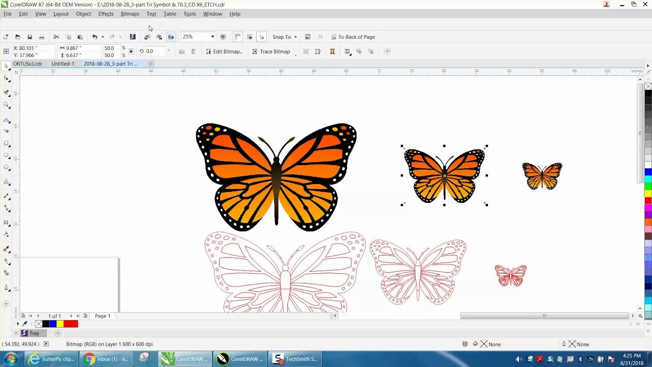 hight resolution of corel draw tips tricks reduce clipart before you trace youtube