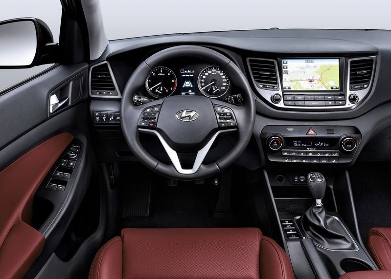 2016 Hyundai Tucson Interior Hyundai Pinterest Cars New