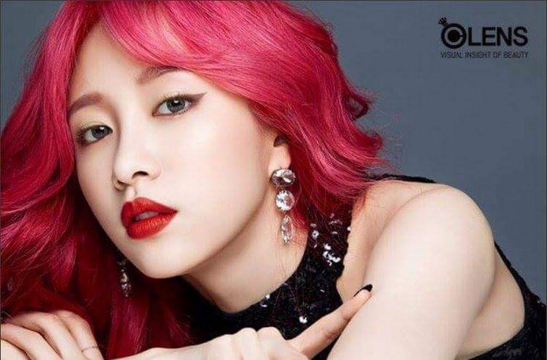 Sign In Kpop Hair Color Hani Kpop Hair