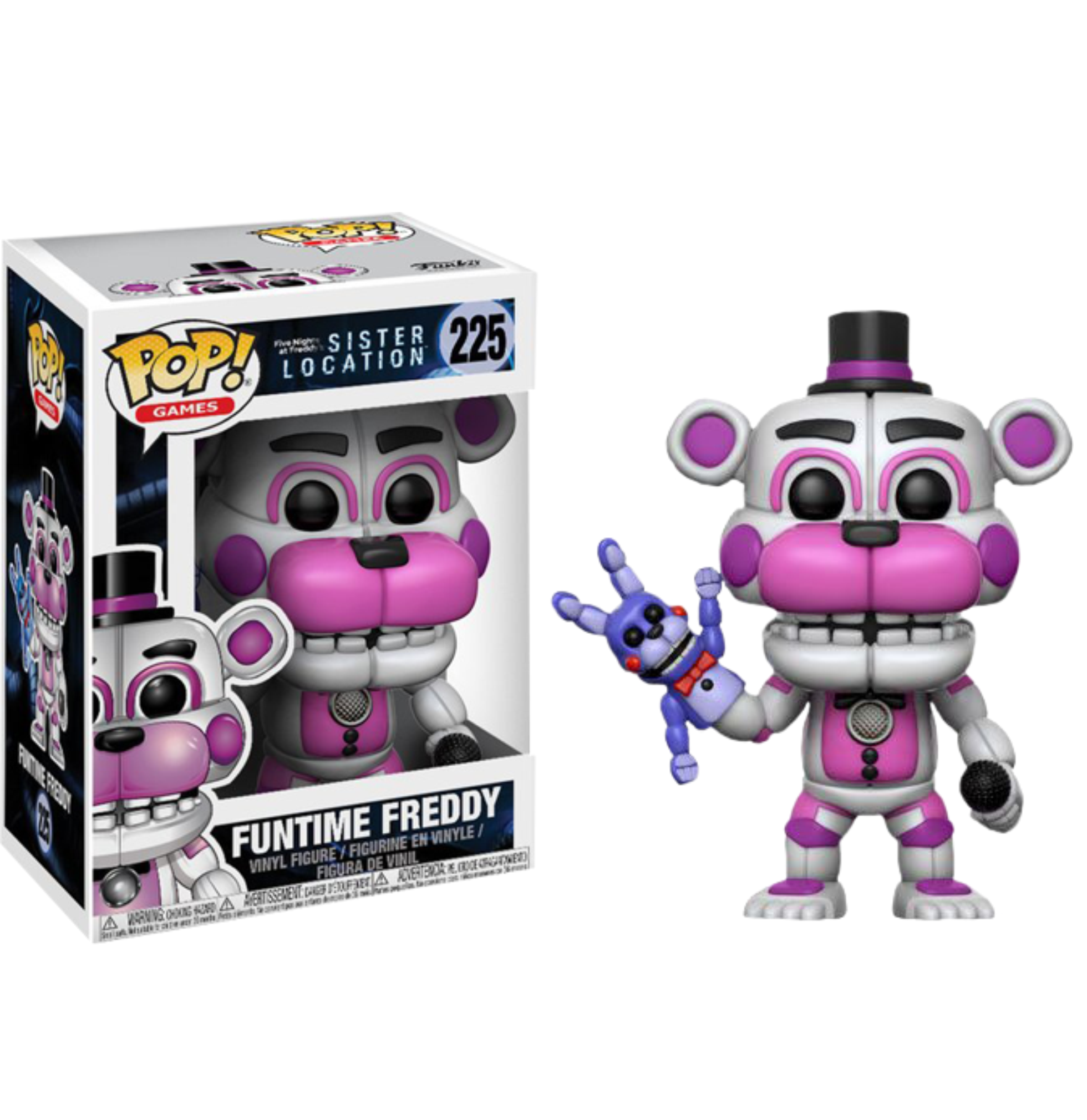 Photo of Five Nights at Freddy's: Sister Location – Funtime Freddy Pop! Vinyl Figure