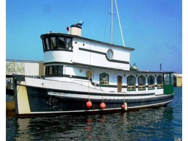 Pilot House Trawler Conversion - Tiny House Listings | m