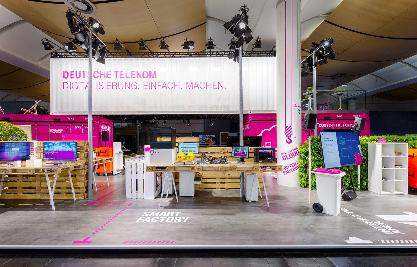Deutsche Telekom Hannover Messe 2016 on Behance