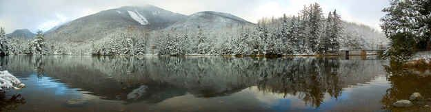 Marcy Dam in less snow | 22 Overwhelmingly Beautiful Photos Of The Adirondacks