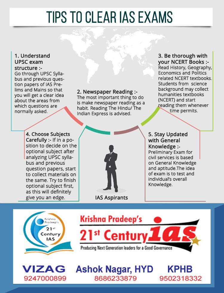Tips to Clear IAS Exam Ias study