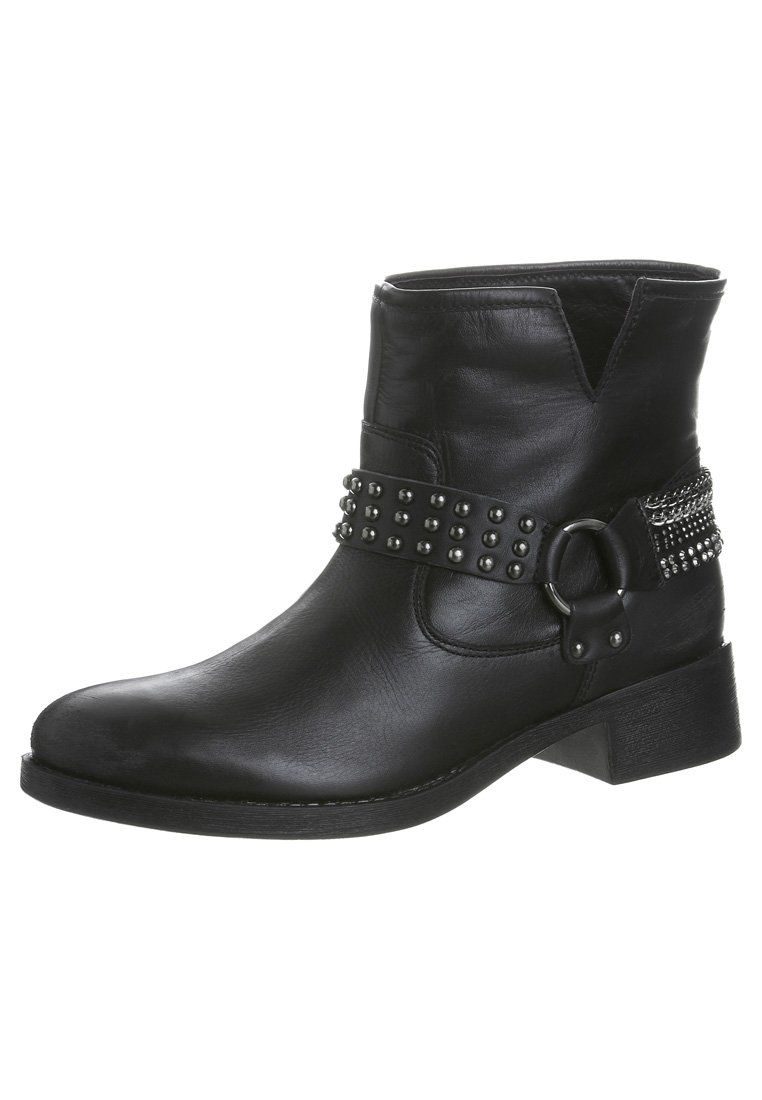 Cinti - Cowboylaarsjes / Motorlaarsjes - Zwart