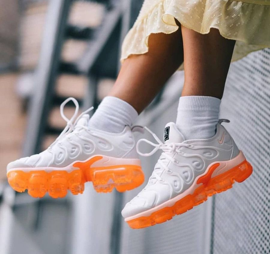 best sneakers f3514 f8398 Nike Wmns Air Vapormax Plus 'Creamsicle' #vapormax ...
