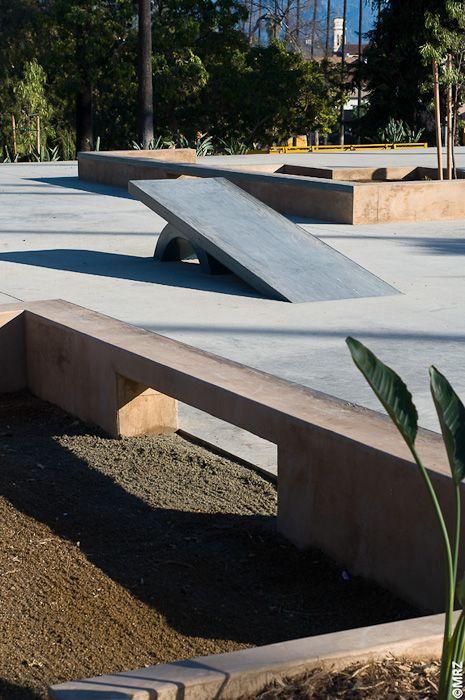 Hollenbeck Skate Plaza - Los Angeles, California