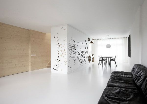The wall perforated by lazer cut design ideas architecture u003c3