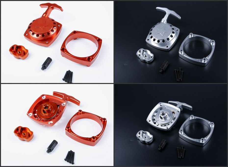 CNC Metal Easy start pull starter set ( No need to process