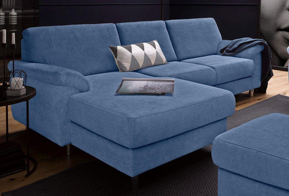sit&more Ecksofa blau, Recamiere links, FSC®-zertifiziert Jetzt ...