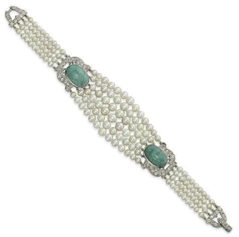 Bracelet, Cartier, 1925. Christie's